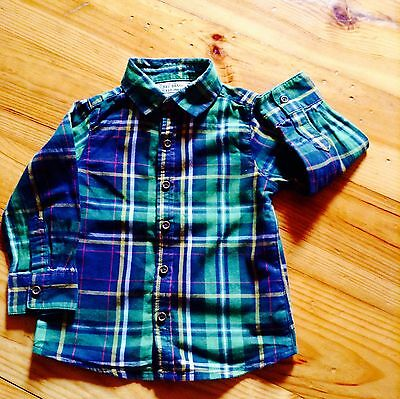NEXT checked shirt 18 - 24 months boy - very good condition.