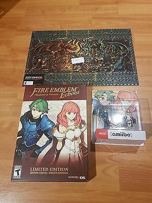 Fire Emblem Echoes:Shadows of Valentia Limited Edition + 2 Pack Amiibo + Poster