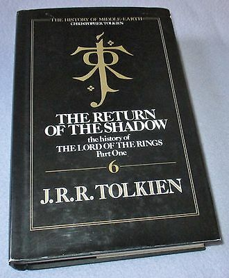 J R R Tolkien -  The Return Of The Shadow - Hb