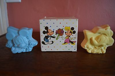"""Vintage Avon """"mickey & Minnie In Hollywood Soaps~Not Used~1989"""