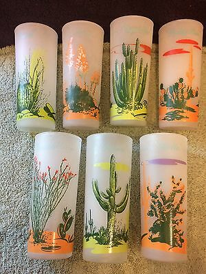 Blakely Arizona Cactus Glasses Gas Station 7 Different Designs