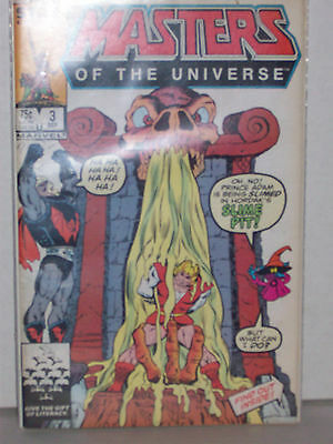 Marvel #3 Masters Of The Universe Comic 1986