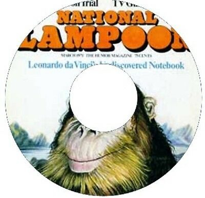 NATIONAL LAMPOON MAGAZINE 246 ISSUES PDF 2 CD rom 1970-1998 W@W L@@k ***********