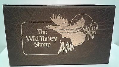 1982 Wild Turkey Stamp  Stored for 35 Years - Plus Free Shipping