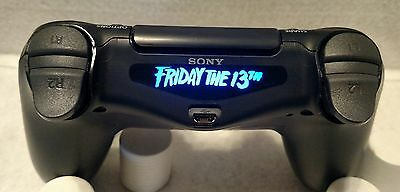 Friday The 13th Led Light Bar Decal Sticker Fits Ps4 Playstation 4 Controller