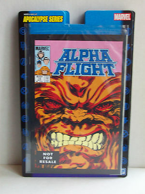 Alpha Flight 10 Marvel Legends Reprint comic Toy Biz Sasquatch bio included