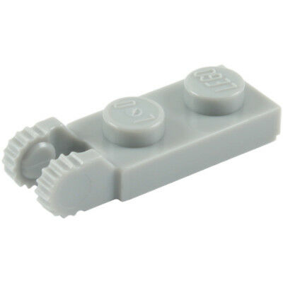 Lego - 44302 - 1X2 Locking W/ 2 Fingers On End -Select Qty & Col + Gift - New