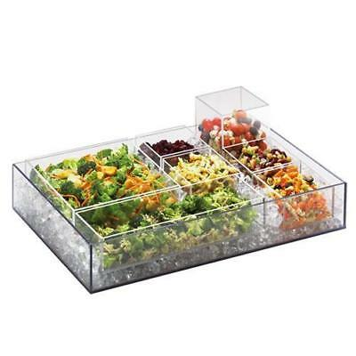 Cal-Mil - 1395-12 - Cater Choice 5 in x 5 in x 3 in Acrylic Tray