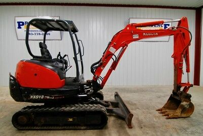 "2014 Kubota Kx91-3S2 Track Excavator , 10'5"" Dig Depth, Ready To Go To Work!"
