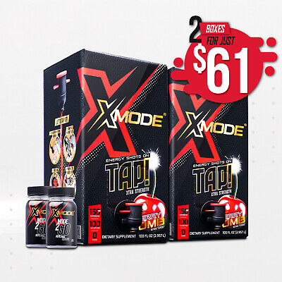 X-Mode Energy Shots (Double Box - 200 Servings for $50)