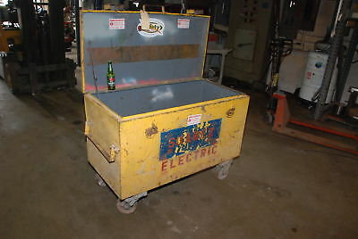 "Heavy duty tool chest on casters;4x2x2ft;6""steel casters;for ridgid INV=25289"