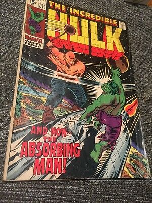 The Incredible Hulk #125 (1970) - The Absorbing Man