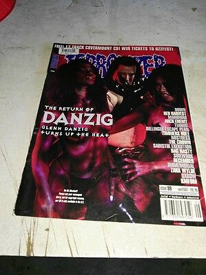 Terrorizer magazine Issue 99 May 2002 Danzig Manowar