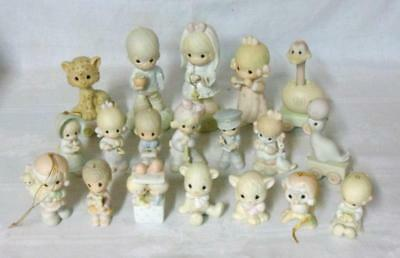 19 Piece Precious Moments Figurine Collection