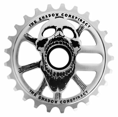 The Shadow Conspiracy Scream BMX Sprocket - 25T Raw Polish Scream Sprocket