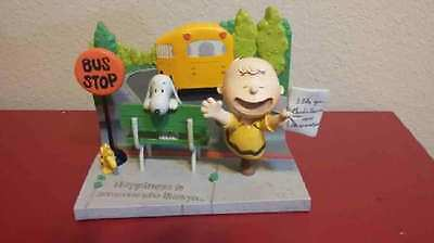 "Hallmark Peanuts Gallery   "" I like you Charlie Brown "" Limited edition 2017"