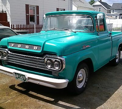 1959 Ford F-100 Styleside 1959 ford