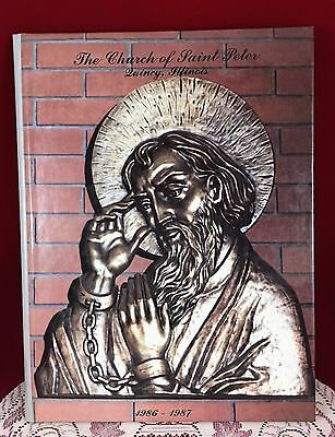 The Church of Saint Peter - Quincy, Illinois - 1986 - 1987 Hardcover Book
