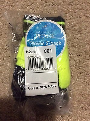 New Children's Place 2-Pack Gloves In New Navy