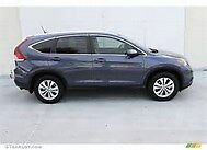 2012 Honda CR-V EX-L Very low Mileage, excellent cond./CLEAN, leather, 42K Miles, blue, AWD