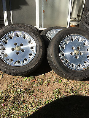 HOLDEN COMMODORE/STATESMAN 16 INCH ALLOY WHEELS X4 with tyres-camden