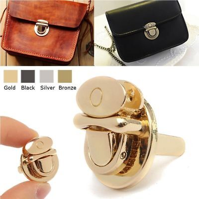 Twist Lock Purse Handbag For Bag Hardware Metal DIY Bag Clasp Turn Lock