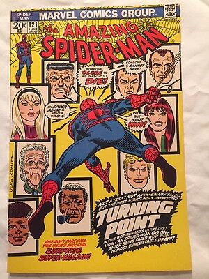 The Amazing Spider-Man #121 (Jun 1973, Marvel) Death of Gwen Stacy