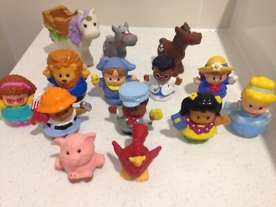 Fisher Price Little People And Animals X14