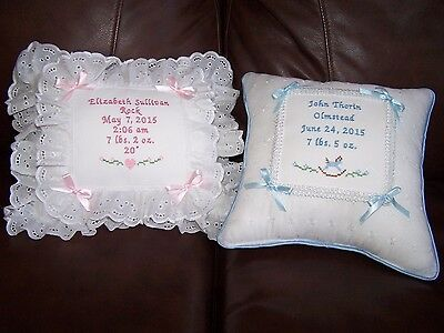 MUSICAL personalized baby pillow BOY OR GIRL