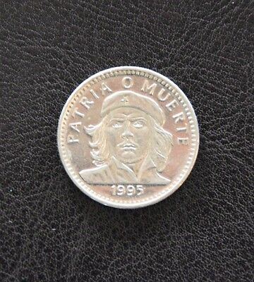 1995 Caribbean Che Guevara 3 Pesos Uncirculated Condition