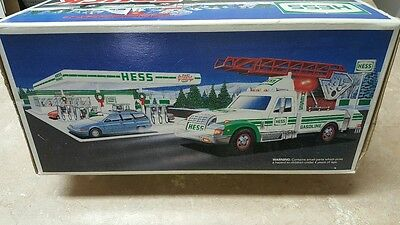 1994 Hess Toy Truck  Rescue Truck     New In Box