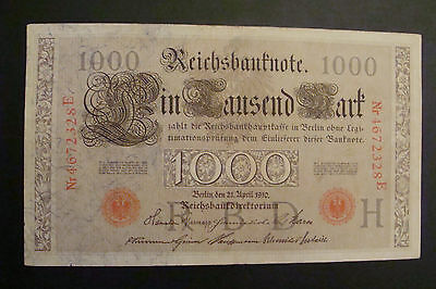 Germany 1000 Mark 1910 Crisp