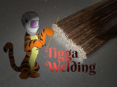 Silicon Bronze C9 Tig Welding Filler Rods (13 inches)
