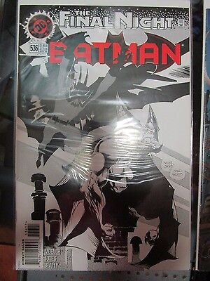 Batman #536 DC Comics The Final Night Man-Bat Doug Moench Kelley Jones