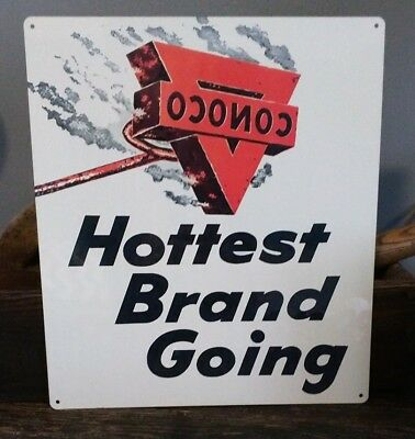Conoco branding hottest brand going sign New garage 10 x 12 50033