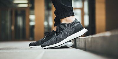 75479d171 Adidas Ultra Boost Uncaged Black Grey White Size 9. BY2551. nmd pk primeknit