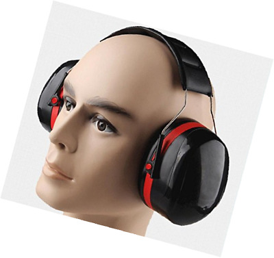 Ear Defender Ear Muffs Adjustable Noise Cancelling Headphones Sleeping Studying
