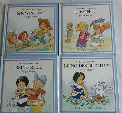 A children's book about help me be good collection Joy Berry Grolier books