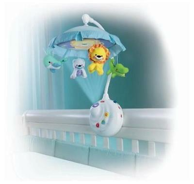 Fisher-Price Precious Planet 2-in-1 Projection Mobile, Baby Crib Music - NEW