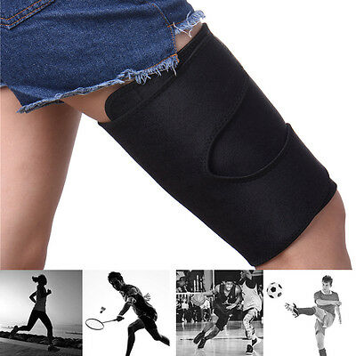Thigh Sleeve Brace Support Compression Leg Wrap Hamstring Wrap Groin