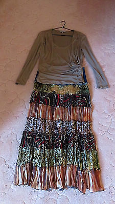 Ladies Long Sleeve Top Size S TABLE EIGHT WITH SKIRT