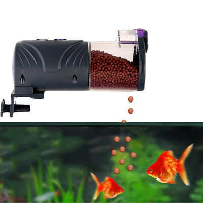 Aquarium Tank Automatic Fish Food Feeder Feeding Auto Dispenser Digital Timer