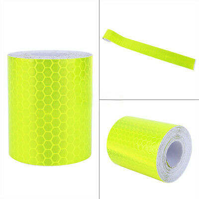 5colors 300cm For Trucks Car Warning Reflective Safety Tape Adhesive Sticker