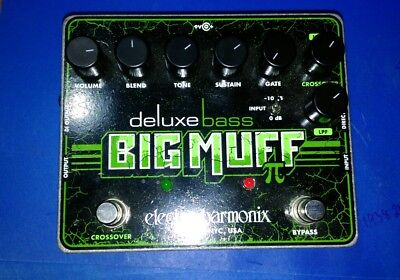 Deluxe Bass Big Muff by Electro Harmonix
