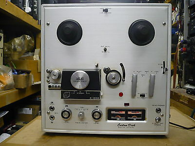 Akai X-100D 4 Track Reel to Reel (working but needs service)