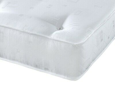 "Lisbon The Ortho Sprung Tufted Mattress 9"" deep single double King 3/4  hypo"