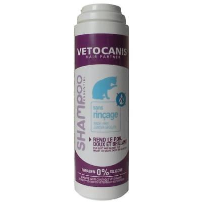 VETOCANIS Shampoing sans rincage - Pour chat