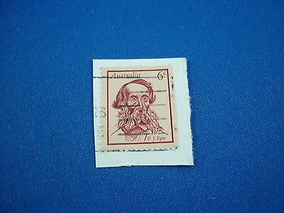One 6 cent Australian Stamp ( 1971 ) - used.