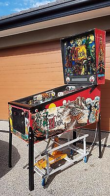 Hook Peter Pan Pinball Machine by Data East in Very Good Condition