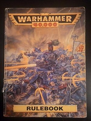 C024 Warhammer 40k 2nd Edition Rule Book 1993